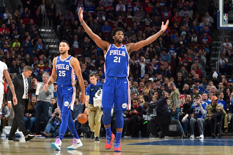 Embiid, 76ers top Pelicans after Davis&#39 missed free throw