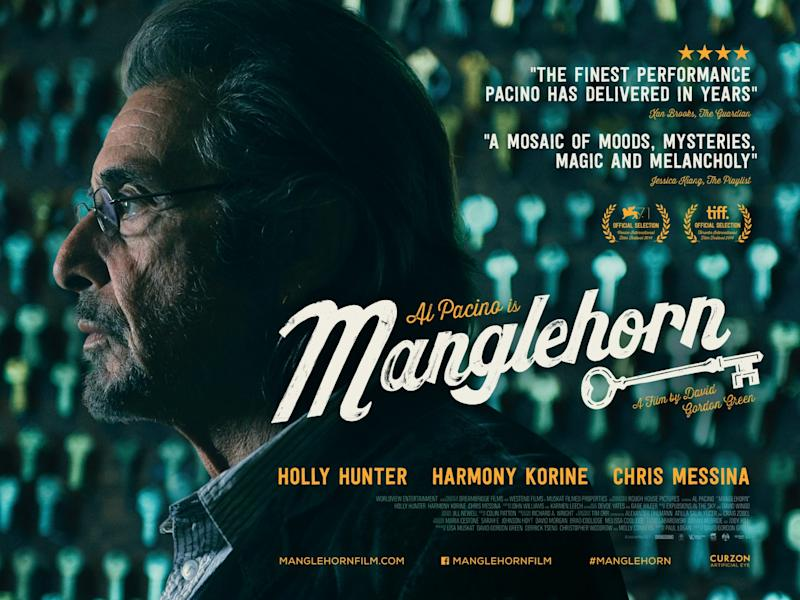 The UK poster for Manglehorn. (Curzon)