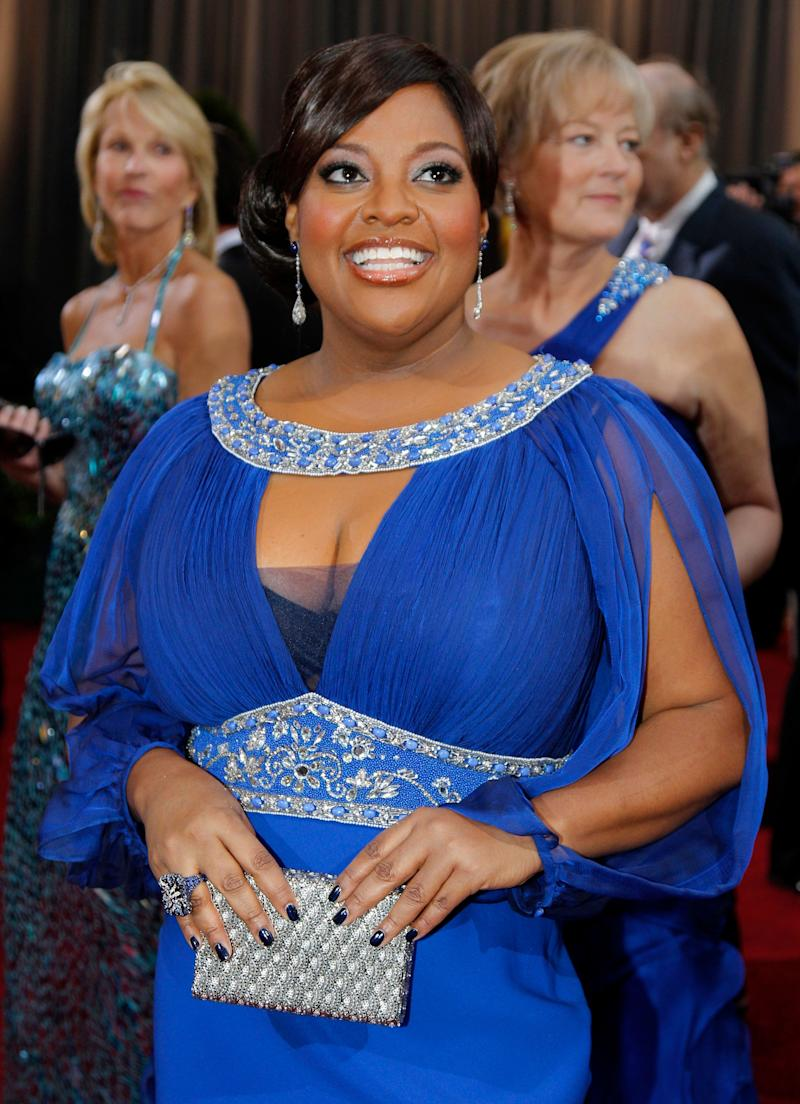Television personality Sherri Shepherd arrives before the 84th Academy Awards on Sunday, Feb. 26, 2012, in the Hollywood section of Los Angeles. (AP Photo/Amy Sancetta)