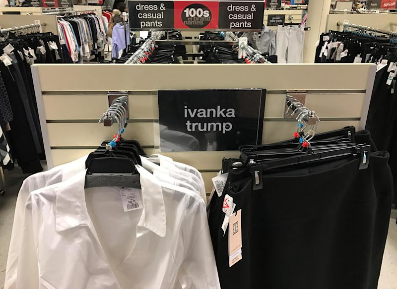 Ivanka Trump's Clothing Is In Demand