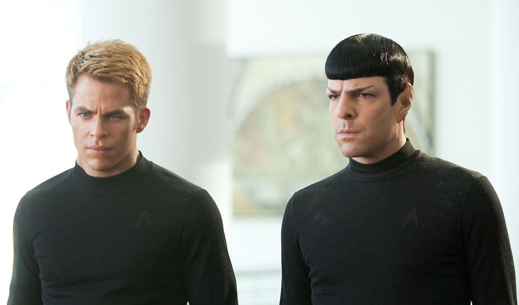 "Chris Pine and Zachary Quinto in Paramount Pictures' ""Star Trek Into Darkness"" - 2013"