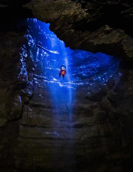 One of the longest and most complex cave systems in the UK opens just twice a year.