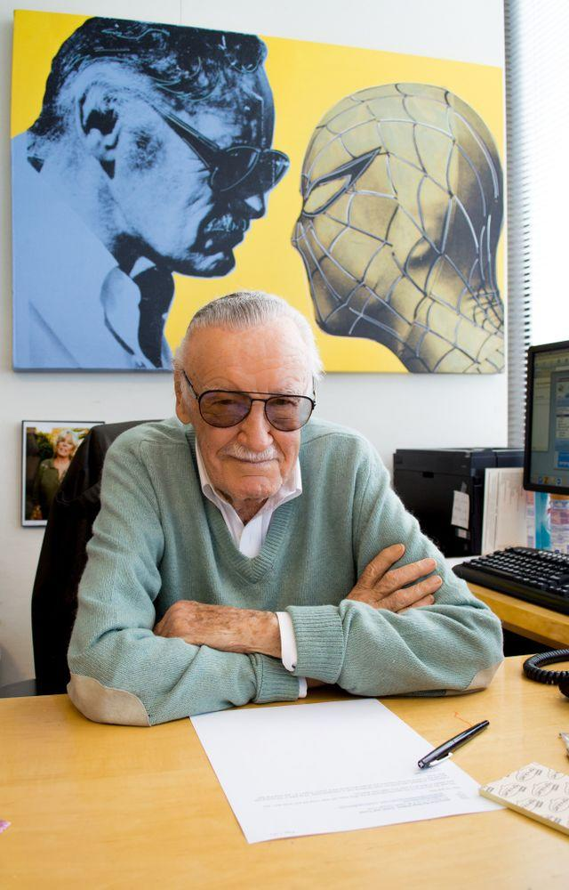 The late Marvel Comics legend Stan Lee | Michelle McCallum/POW! Entertainment