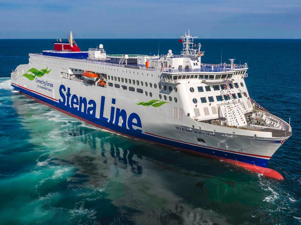 New horizon: Stena Estrid will operate the first ferry link between Holyhead and Belfast (Stena Line)