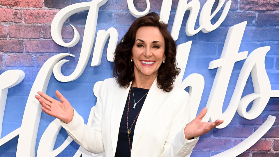 Shirley Ballas has had seven stitches in her hand after a household accident. (Getty Images)