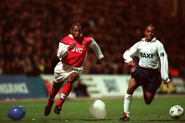 <p>The Portuguese winger made a serious impact in the top flight with Fulham but I'm not convinced many would've seen him as one with a Premier League medal in the cabinet. He lifted the league with the Gunners in 1997-8. </p>