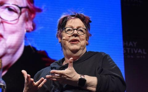 Jo Brand at the Hay Festival