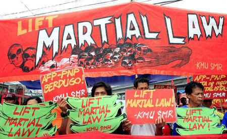 Philippine president seeks martial law extension