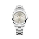 """<p><strong>Rolex</strong></p><p>rolex.com</p><p><strong>$5900.00</strong></p><p><a href=""""https://www.rolex.com/watches/oyster-perpetual/m124300-0001.html"""" rel=""""nofollow noopener"""" target=""""_blank"""" data-ylk=""""slk:Shop Now"""" class=""""link rapid-noclick-resp"""">Shop Now</a></p><p>Who wouldn't be thrilled to receive a Rolex? A no-nonsense stainless steel version ensures that it will get years of use and the 2020 edition is elegant enough to wear 24/7.</p>"""
