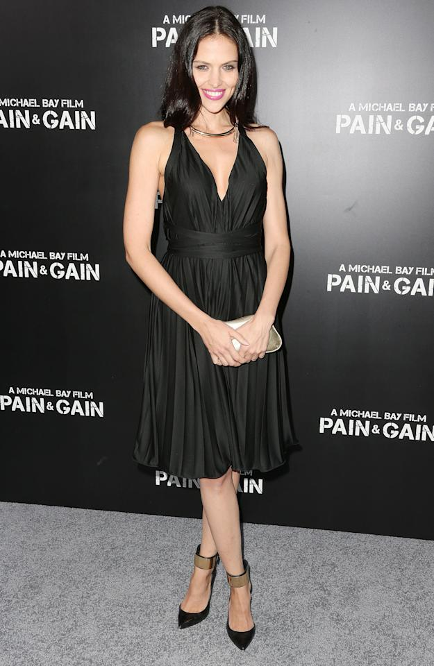 """HOLLYWOOD, CA - APRIL 22: Hana Nitsche attends the premiere of Paramount Pictures' """"Pain & Gain"""" at the TCL Chinese Theatre on April 22, 2013 in Hollywood, California.  (Photo by Frederick M. Brown/Getty Images)"""