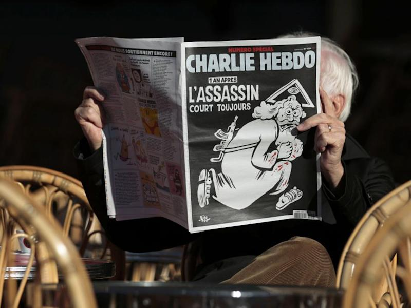 Terror attacks such as the murder of the staff of the French satirical magazine Charlie Hebdo involve networks of Islamist terrorists working across European borders: Reuters