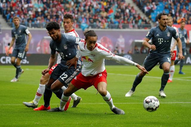 Leipzig held Bayern to a 0-0 draw at home in the Bundesliga two weeks ago (AFP Photo/Odd ANDERSEN)