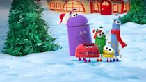 """<p>In this half-hour show, one of the StoryBots goes to seek gift-giving advice from Santa, only to learn that Christmas isn't just about presents. The positive message — and short running time — make this appropriate for the littlest viewers. </p><p><a class=""""link rapid-noclick-resp"""" href=""""https://www.netflix.com/title/80158854"""" rel=""""nofollow noopener"""" target=""""_blank"""" data-ylk=""""slk:WATCH NOW"""">WATCH NOW</a><br></p>"""