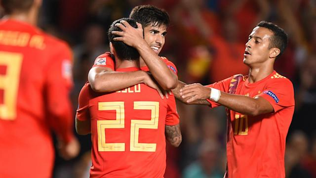 Marco Asensio grabbed a goal and forced four others as Spain put Croatia to the sword in their Nations League clash in Elche.