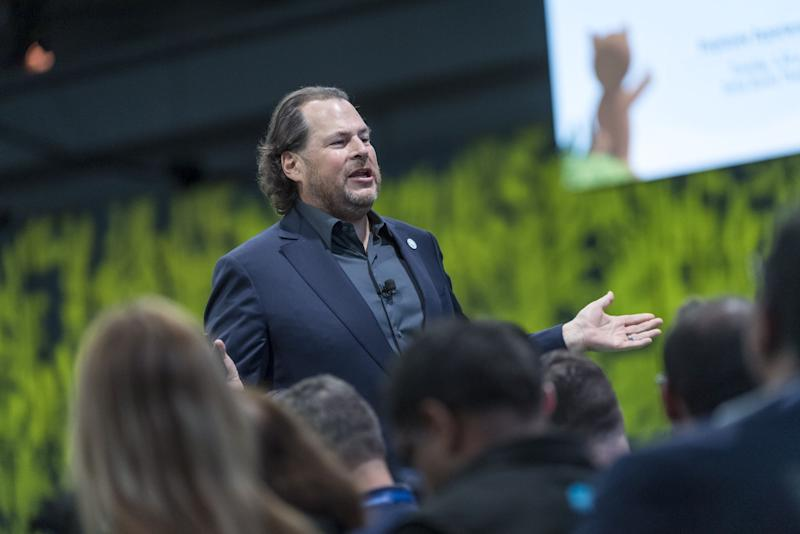 Salesforce Encouraged Employees to Expense Co-CEO Marc Benioff's Book