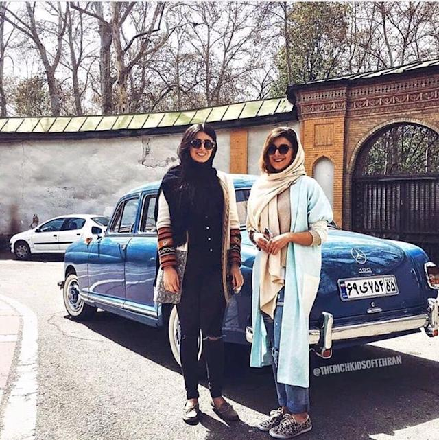 While social and economic inequality has brought protestors onto the streets, others in Iran seem happy to share images of their opulent lifestyle via social media. (Photo: Facebook/Rich Kids of Tehran)