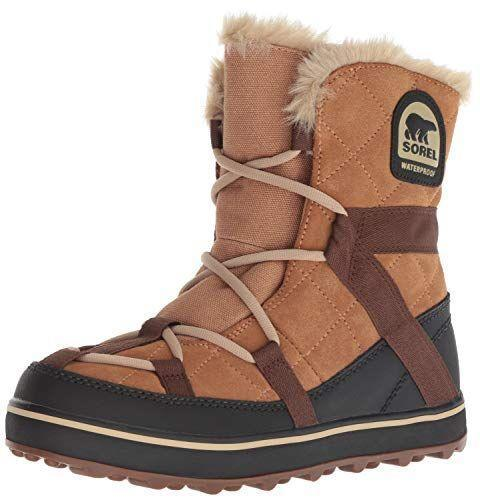 """<p><strong>Sorel</strong></p><p>amazon.com</p><p><strong>$140.65</strong></p><p><a href=""""https://www.amazon.com/dp/B01C9A18J0?tag=syn-yahoo-20&ascsubtag=%5Bartid%7C2164.g.32598715%5Bsrc%7Cyahoo-us"""" rel=""""nofollow noopener"""" target=""""_blank"""" data-ylk=""""slk:Shop Now"""" class=""""link rapid-noclick-resp"""">Shop Now</a></p><p>These boots are Amazon's highest-rated for a reason: They provide lots of warmth and traction but still feel lightweight. </p>"""