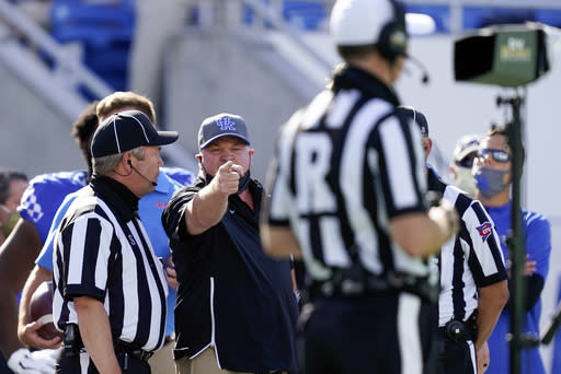 Pandemic makes tough job even tougher for football officials