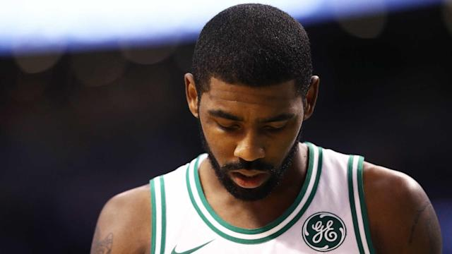 Kyrie Irving is expected to be back in action for the Boston Celtics on Tuesday, just four days after suffering a facial fracture.