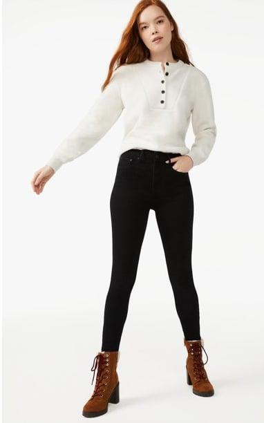 <p>You'll never want to take off this <span>Free Assembly Women's Teddy Henley Top</span> ($26), perfect for both lounging around and dressing up. It also comes in red, black and beige.</p>