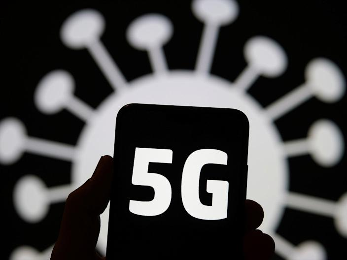All four models of the iPhone 12 support 5G, prompting a new surge in conspiracy theories (Getty Images/iStockphoto)
