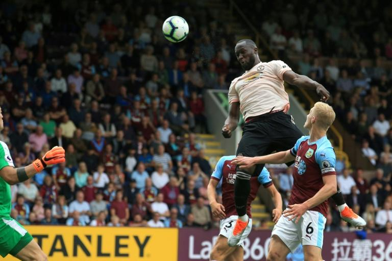 Romelu Lukaku got both goals for Manchester United at Turf Moor