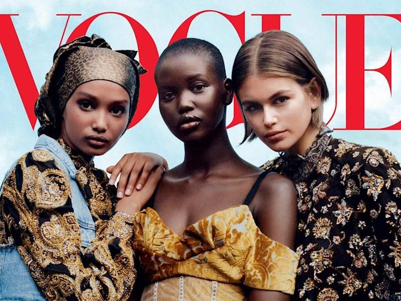 Kaia Gerber thrilled to land first U.S. Vogue cover
