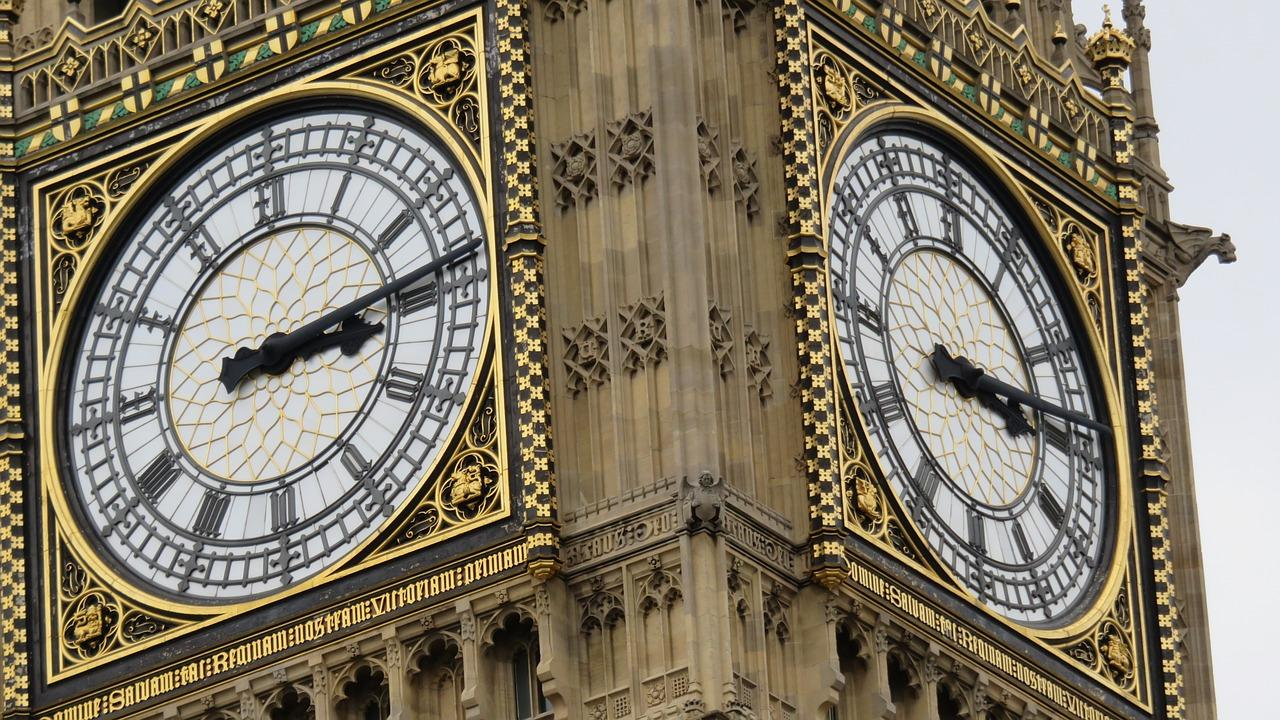 <span>Renowned for its accuracy, Big Ben has been chiming since the clock tower was completed in 1859 – and we've been keeping time ever since. </span><i><span>[Photo: Pixabay]</span></i>