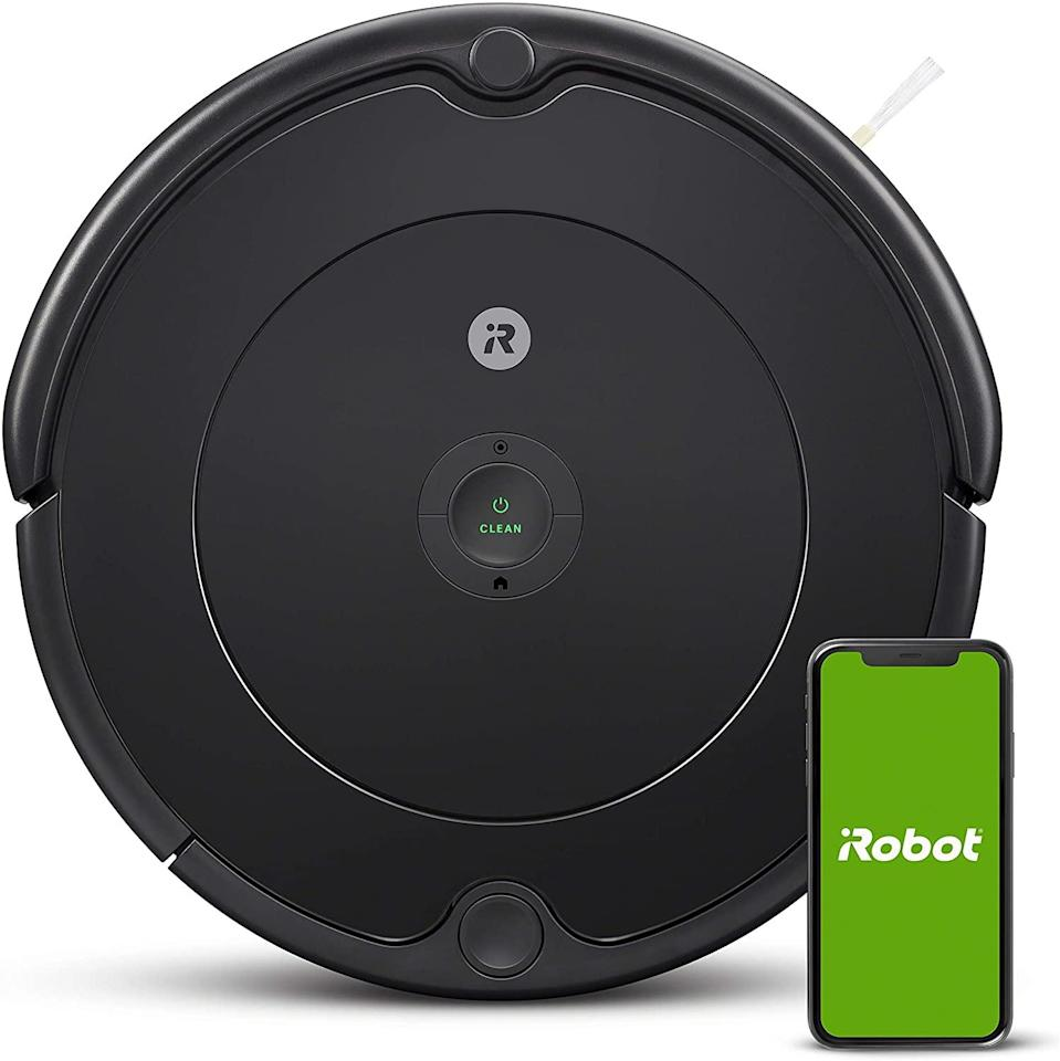 """<h2>38% Off iRobot Roomba Vacuum</h2><br>""""If you follow Refinery29 on Instagram (do it!) you may have seen some of us hyping our Prime Day picks IRL. (If you consider Instagram real life.) I am strongly devoted to the robot vacuum lifestyle, and the Roomba discounts this year were too good to pass up. I love the one I currently have — his name is Dexter — but he's starting to get a little ... weird. It was time for an upgrade."""" <br><br><em>— Emily Ruane, Fashion Market Writer</em><br><br><strong>roomba®</strong> iRobot Roomba 692, $, available at <a href=""""https://amzn.to/33I0Z04"""" rel=""""nofollow noopener"""" target=""""_blank"""" data-ylk=""""slk:Amazon"""" class=""""link rapid-noclick-resp"""">Amazon</a>"""