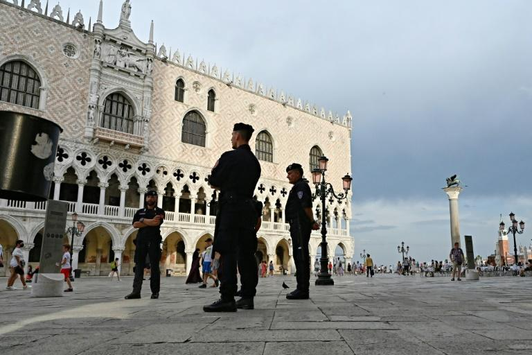 Security is tight for G20 finance minsiters meeting in Venice