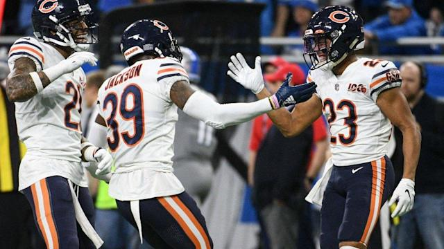 Bears' secondary ranked No. 12 by PFF