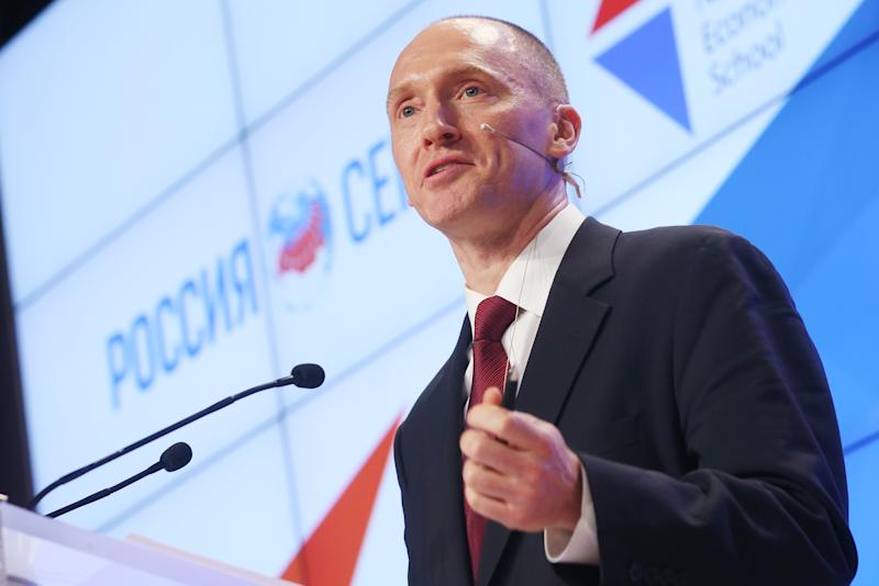 Carter Page Touted Kremlin Contacts in 2013 Letter