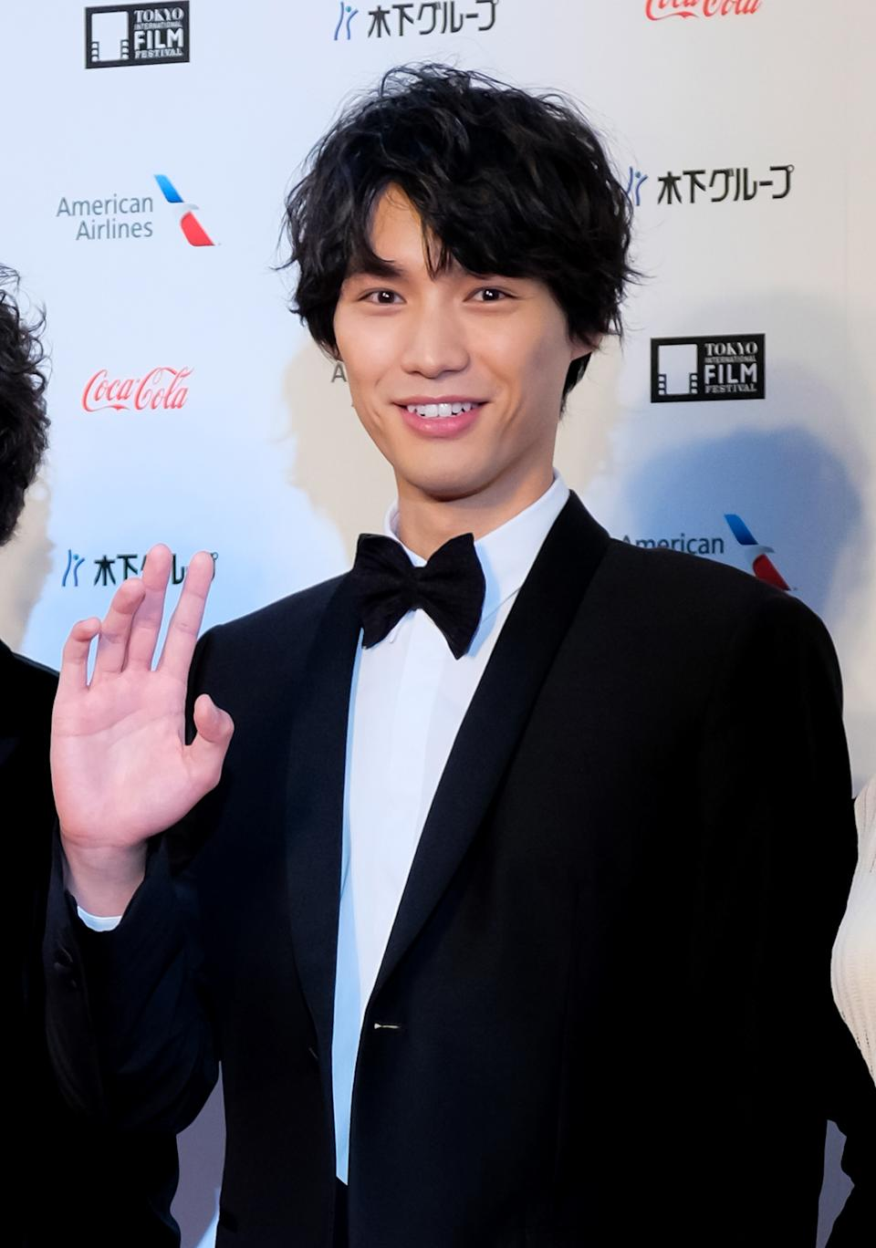 TOKYO, JAPAN - OCTOBER 25:  Actor Sota Fukushi attends the opening of the Tokyo International Film Festival 2018 on October 25, 2018 in Tokyo, Japan. (Photo by Keith Tsuji/Getty Images)
