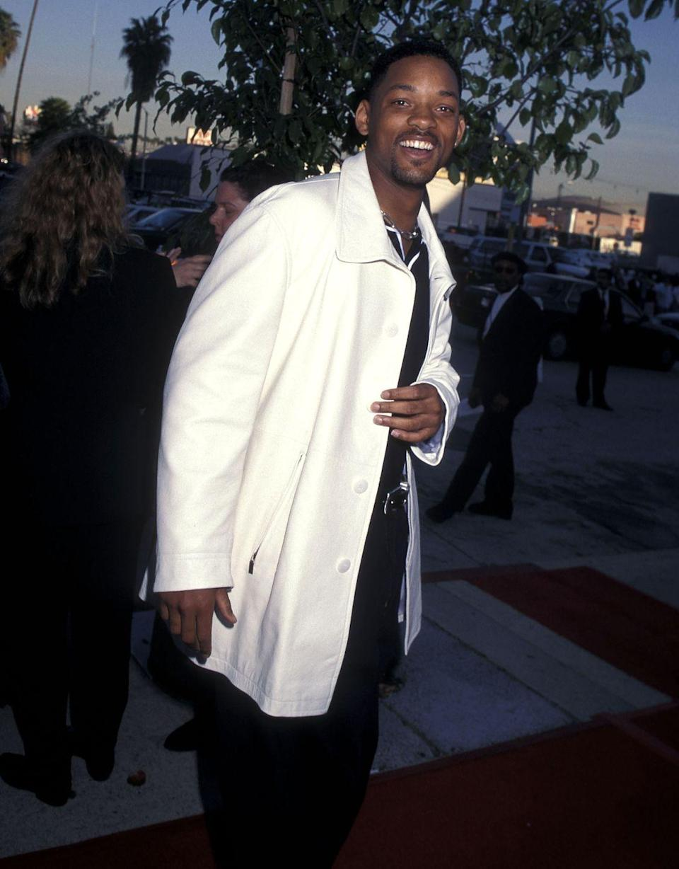 <p>After his '90s sitcom success in <em>The Fresh Prince of Bel-Air, </em>Will Smith tested his talents on the big screen. It was his leading role in 1996's <em>Independence Day </em>that turned him into one of Hollywood's most sought after leading men. </p>