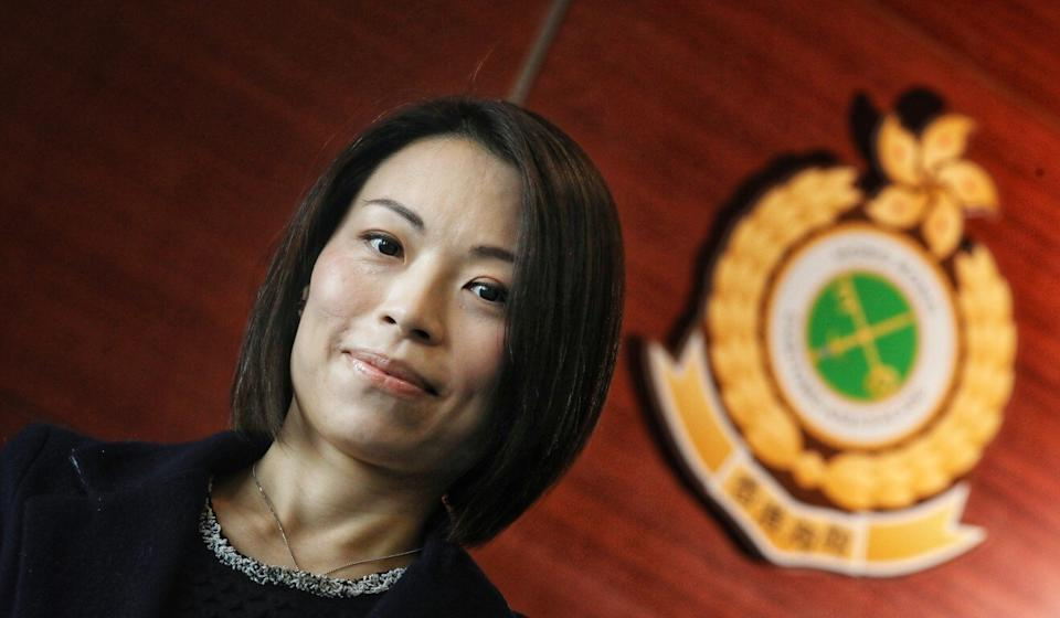 Superintendent Grace Tang, of the Customs and Excise Department. Photo: Nora Tam