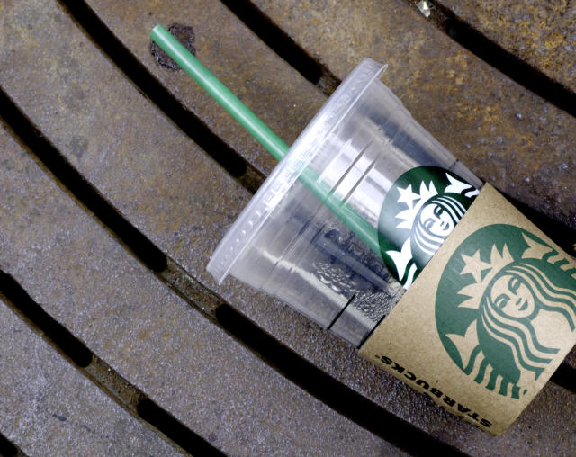 A woman in Utah found cleaning tablets at the bottom of her Starbucks drink. (Photo: Getty Images)