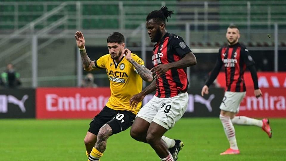 Milan-Udinese   MIGUEL MEDINA/Getty Images