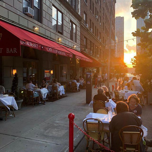"<p>The lovely terrace of this beloved <a href=""https://cafeluxembourg.com/"" rel=""nofollow noopener"" target=""_blank"" data-ylk=""slk:Upper West Side institution"" class=""link rapid-noclick-resp"">Upper West Side institution</a> is now open for dinner and weekend brunch service. We recommend French onion soup, the signature Luxemburger, and profiteroles for dessert. Now that's a perfect meal.</p><p><a href=""https://www.instagram.com/p/CBzIbDJDdDq/?utm_source=ig_embed&utm_campaign=loading"" rel=""nofollow noopener"" target=""_blank"" data-ylk=""slk:See the original post on Instagram"" class=""link rapid-noclick-resp"">See the original post on Instagram</a></p>"