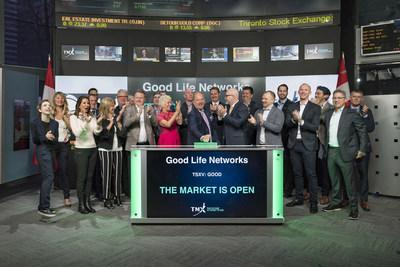Good Life Networks Inc. Opens the Market (CNW Group/TMX Group Limited)