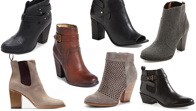 Fall booties to buy right now
