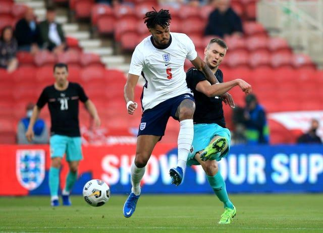 Tyrone Mings will be hoping to start England's first game of the Euros.