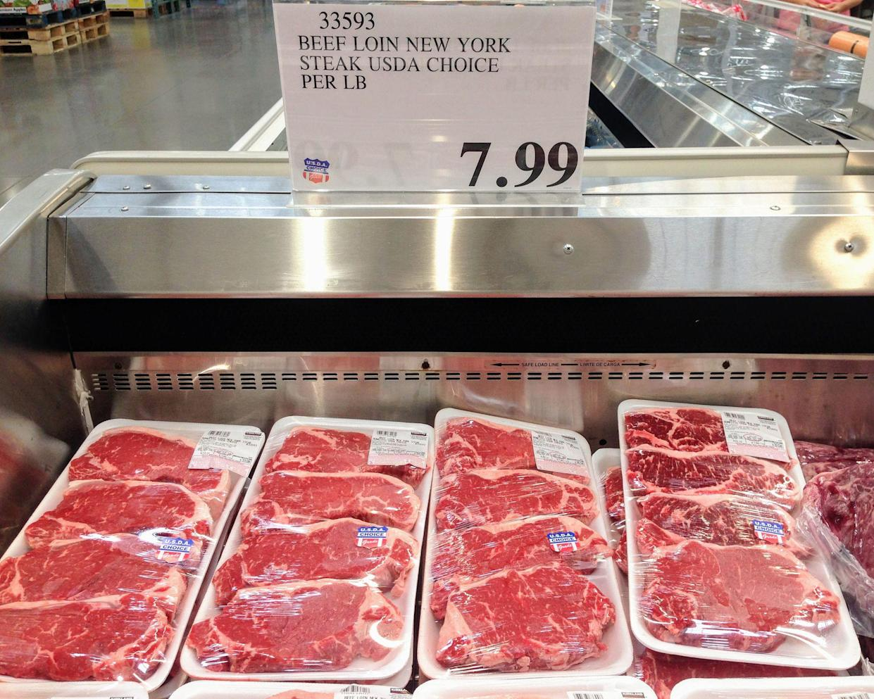 steaks at Costco