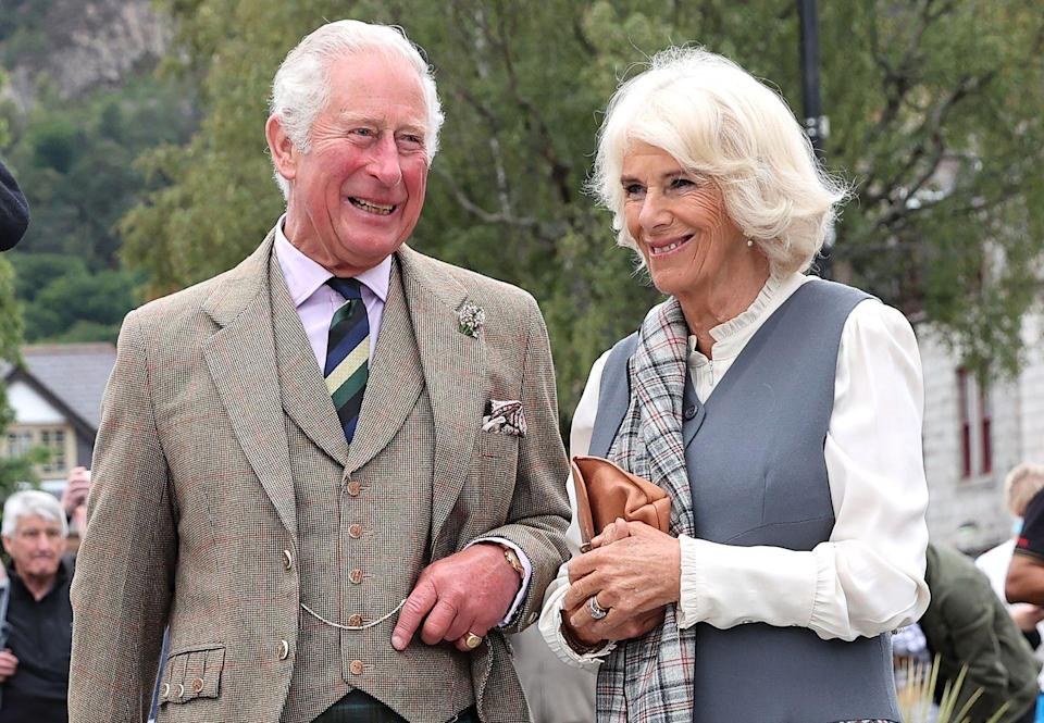 """<p><strong>When did they meet? </strong>1970</p><p><strong>How did they meet? </strong>Anyone who's seen <a href=""""https://www.cosmopolitan.com/uk/reports/a34710074/royal-family-crown-response/"""" rel=""""nofollow noopener"""" target=""""_blank"""" data-ylk=""""slk:The Crown"""" class=""""link rapid-noclick-resp"""">The Crown</a> will already be well aware of the <a href=""""https://www.cosmopolitan.com/uk/reports/a34683112/the-crown-princess-diana-camilla-lunch/"""" rel=""""nofollow noopener"""" target=""""_blank"""" data-ylk=""""slk:love triangle between Prince Charles, Diana and Camilla"""" class=""""link rapid-noclick-resp"""">love triangle between Prince Charles, Diana and Camilla</a>. But, ICYMI, the pair first met at a party and bonded over their shared ancestral connections. They started dating soon after but split when Prince Charles left for the Royal Navy. When he returned eight months later, Camilla was engaged to Andrew Parker Bowles, who she later married.</p><p>Although he married Princess Diana in 1981, <a href=""""https://www.cosmopolitan.com/uk/reports/a34708673/camilla-parker-bowles-watching-the-crown/"""" rel=""""nofollow noopener"""" target=""""_blank"""" data-ylk=""""slk:Prince Charles and Camilla"""" class=""""link rapid-noclick-resp"""">Prince Charles and Camilla</a> were suspected to have carried on an affair, which is rumoured to have lead to their divorce in 1995. After Diana's death, the couple rekindled their romance and wed in 2005. </p>"""