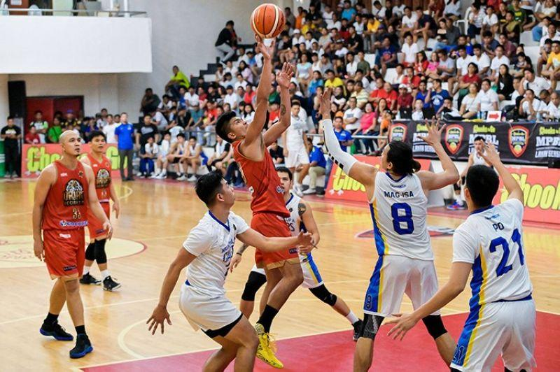 Calo leads davao over Muntinlupa