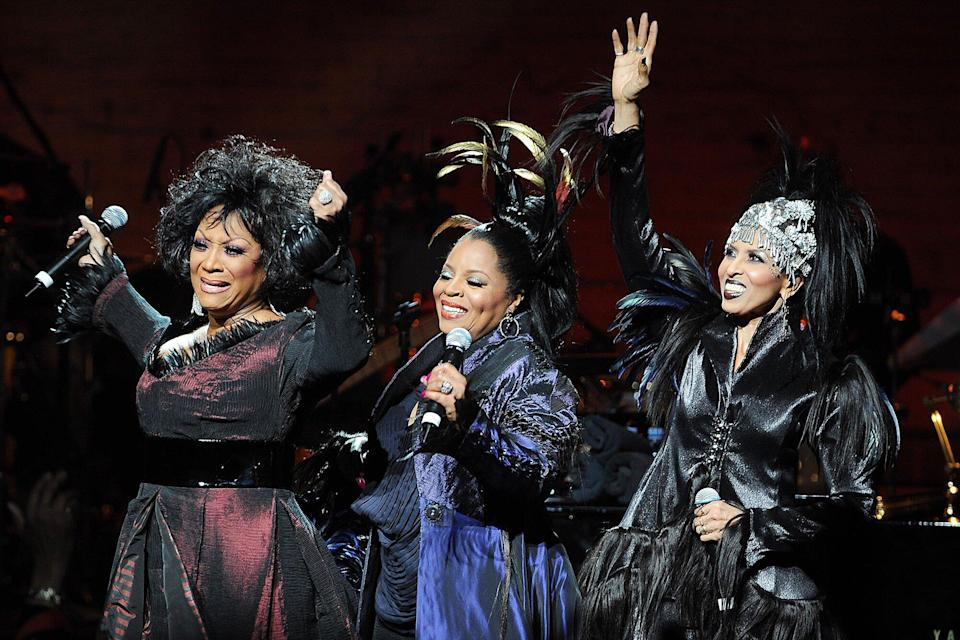 Patti LaBelle, Sarah Dash and Nona Hendryx of the music group Labelle