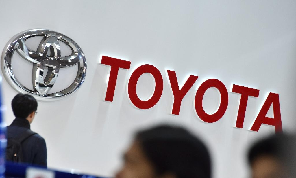 Toyota has two factories in Britain, an assembly plant in Burnaston in central England and a motor making factory in Deeside in Wales, employing 3,400 people (AFP Photo/Kazuhiro NOGI)