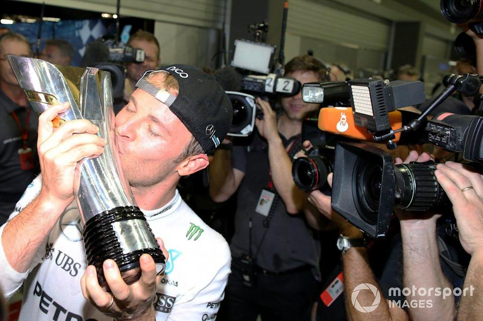 "Race winner Nico Rosberg, Mercedes AMG<span class=""copyright"">Charles Coates / Motorsport Images</span>"
