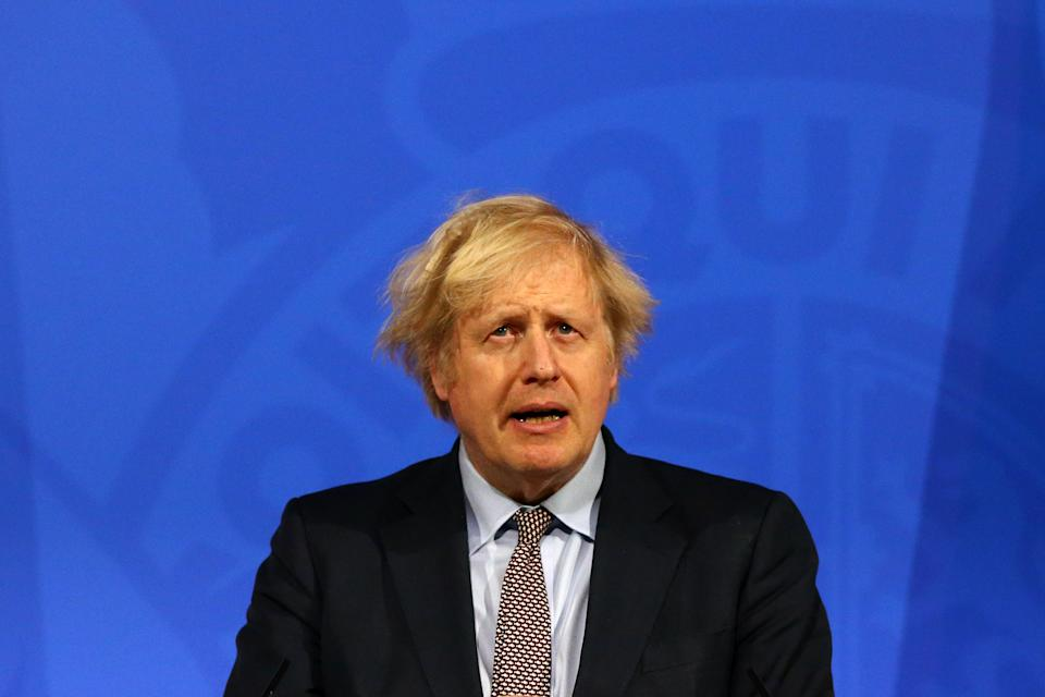 Prime Minister Boris Johnson is due to travel to India later this month. (Hollie Adams/PA Wire)