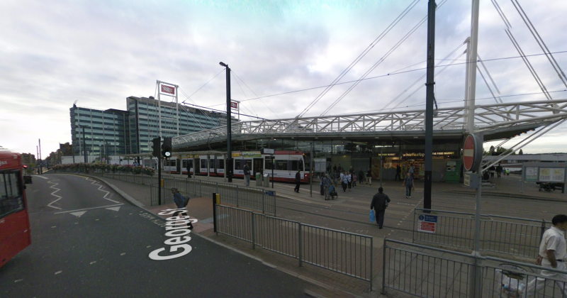The attack took place at Croydon East. (Google Maps)