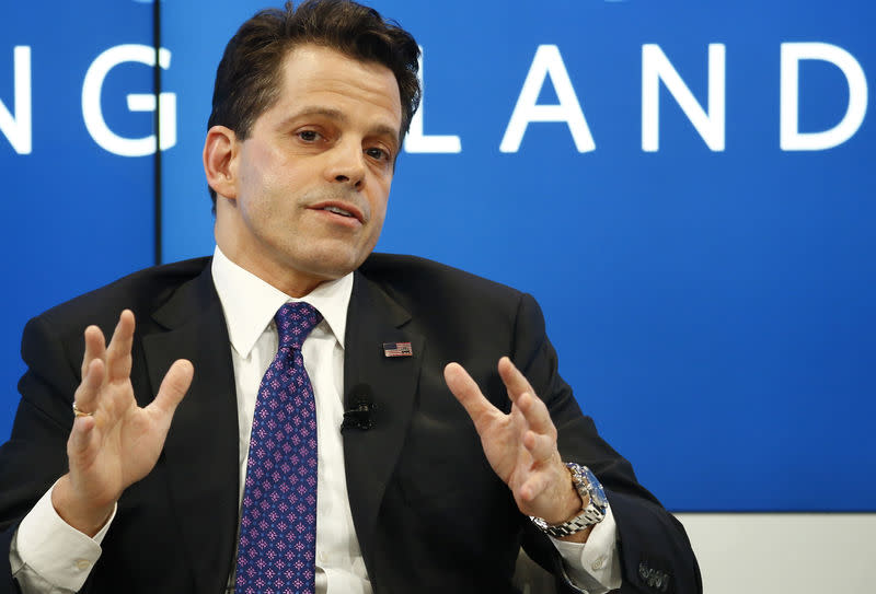 Scaramucci Assistant to US President-elect Trump attends the WEF annual meeting in Davos
